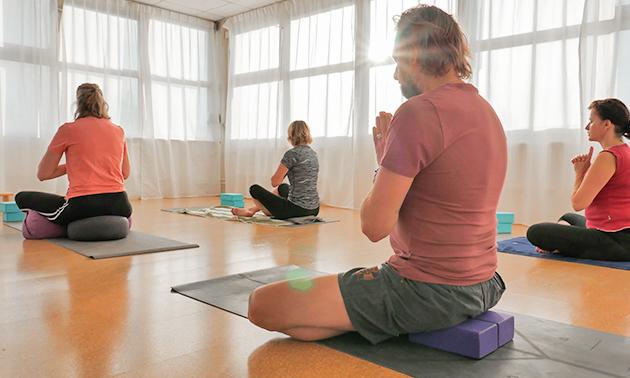 5-rittenkaart voor yoga of pilates