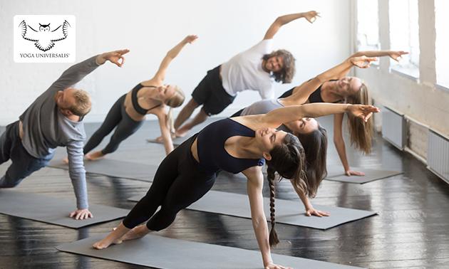 8 yogalessen (1,5 uur per les)
