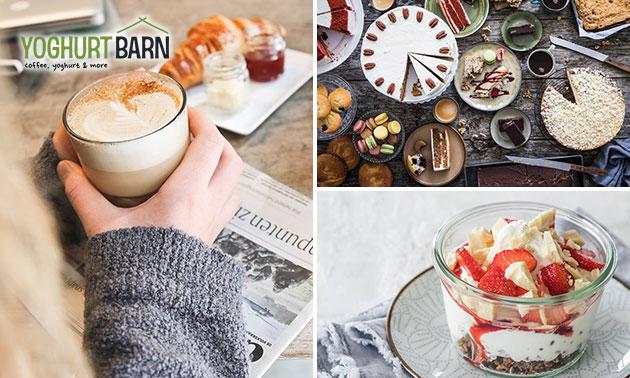 Ontbijt + drankje bij Yoghurt Barn in hartje Eindhoven