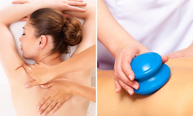 Massage + cupping (60 min)