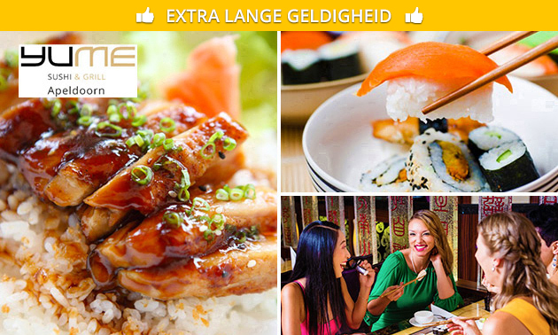 All-You-Can-Eat sushi (2,5 uur) in hartje Apeldoorn