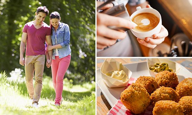 Wandelarrangement + koffie + borrelplank bij Zas & Fratsen
