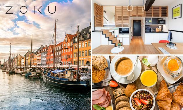 Übernachtung für 2 in einer XL-Loft + Frühstück in Kopenhagen