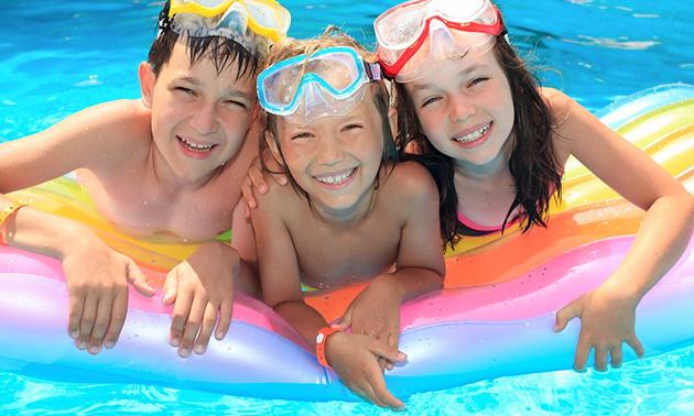 Entree voor Zwembad de Bongerd
