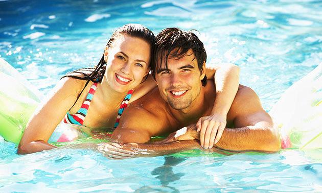 Entree voor Zwembad de Veldkamp